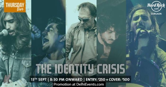 Identity Crisis band Hard Rock Cafe Gurgaon Creative