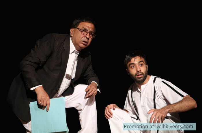 Man Disposes God Proposes English Comedy Play Saleem Shah Still