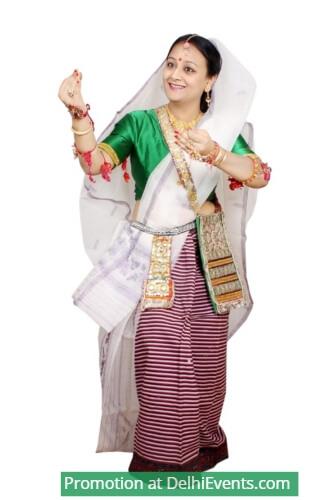 Manipuri Dancer Urmimala Das