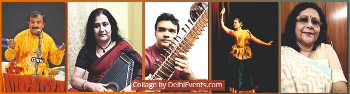 Musicians Dancer Naresh Kumar Saswati Bagchi Debajyoti Mukherjee Tanushri Roy Gopa Bhattacharya