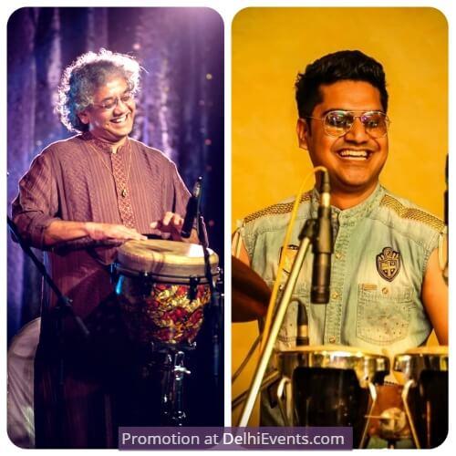 Musicians Veshesh Taufiq Qureshi