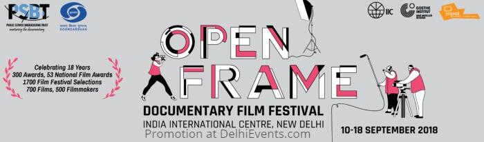 PSBT Open Frame Film Festival 2018 IIC Creative