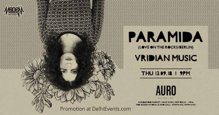 Paramida Love Rocks Berlin VridianMusic Auro Kitchen Bar Creative
