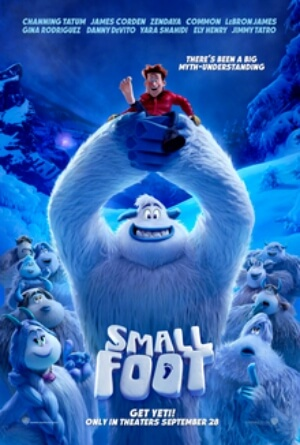 Smallfoot Animation Movie Poster