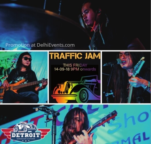 Traffic Jam band Detroit Garage Bar Kitchen Creative