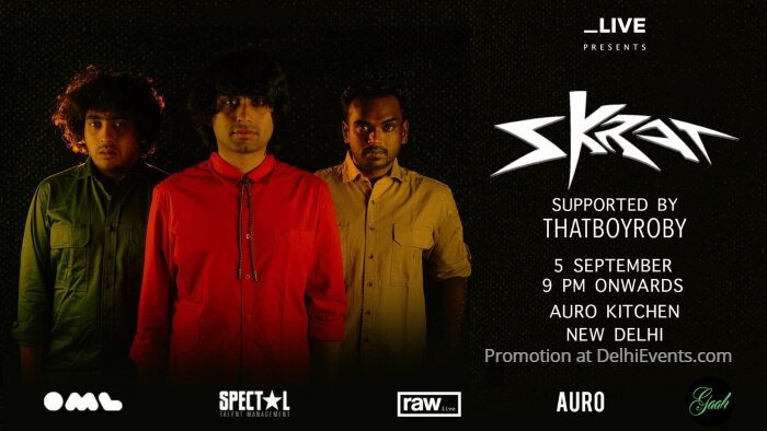 Underscore feat Skrat Delhi Auro Kitchen Bar Creative
