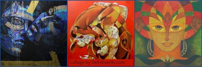 Paintings Amar Singh Gosain Ashwani Prithviwasi Sunil Jaiswal