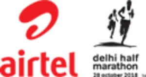 Airtel Delhi Half Marathon 2018 Logo