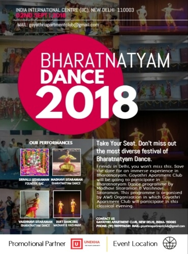 Gayathri Apartment Club Bharatanatyam Reprise 2018 Creative