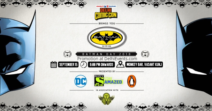 Comic Con India Batman Day Monkey Bar Creative