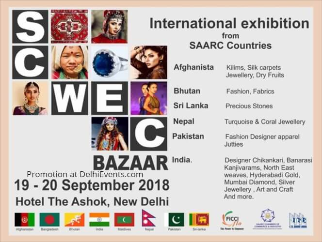 FICCI Ladies Organisation FLO SCWEC Bazaar International Exhibition SAARC countries Ashok Creative