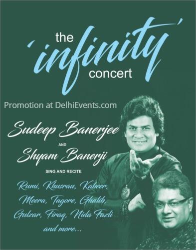 Infinity Concert mystic verses Sudeep Shyam Banerjee Creative