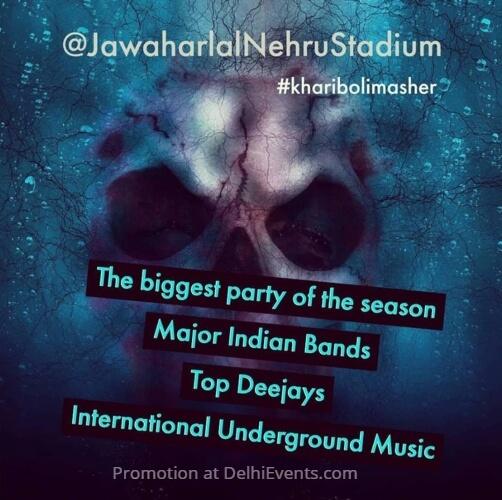 Khariboli Masher music food rain dance festival Jawaharlal Nehru Stadium Creative
