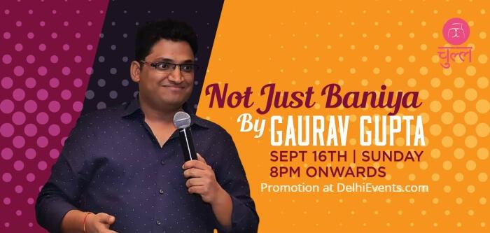Baniya Hinglish standup comedy Gaurav Gupta Chull Creative