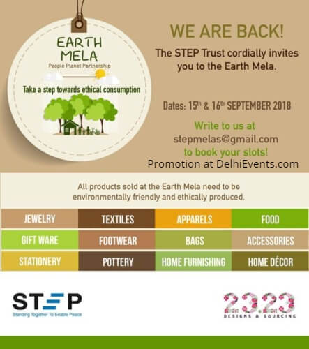 STEP Trust 3rd Edition Earth Mela Italian Centre Creative