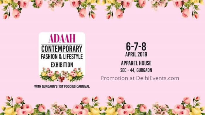 Adaah Contemporary Fashion Lifestyle Exhibition Apparel House Creative