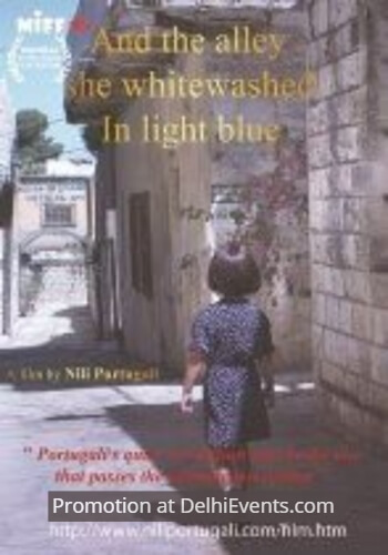 And alley she whitewashed light blue Film Poster