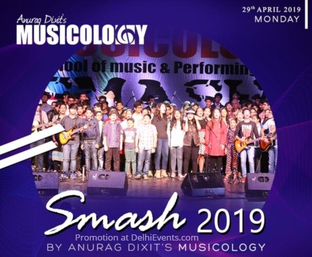 Smash Concert Anurag Dixit Musicology Kamani Creative