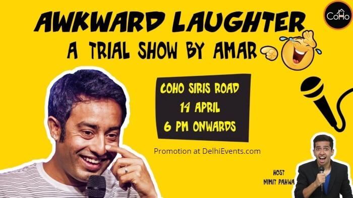 Awkward Laughter Standup Amar S Creative