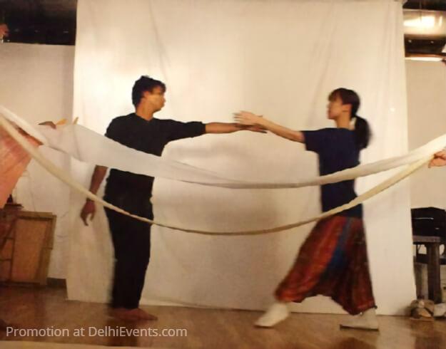 Bamboo Princess Japanese folk tale Puppet Theatre Dance Still