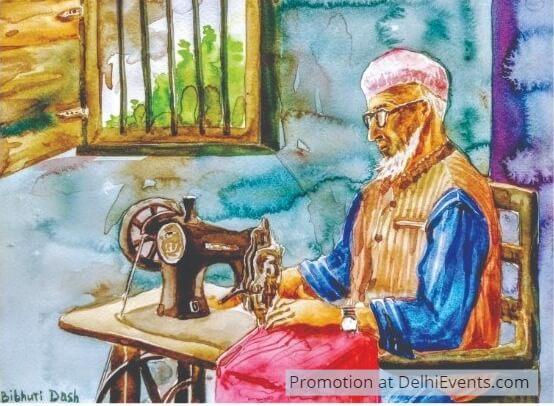 Painting Bibhuti Dash