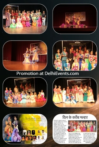 Classical dance Festival Malhaar Competition 2019 Kathak Bharatnatayam Odissi Creative