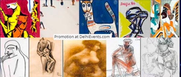 Cosmo Arts India Gallery Cosmic Voyage group show Artworks