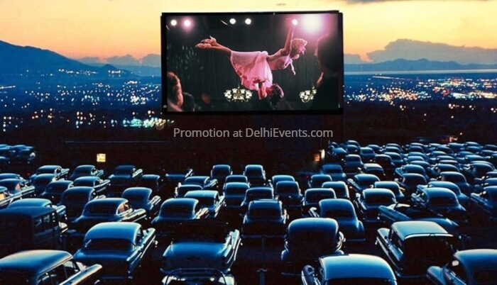 Sunset Cinema Club Drive Cinema Dirty Dancing Dome Creative