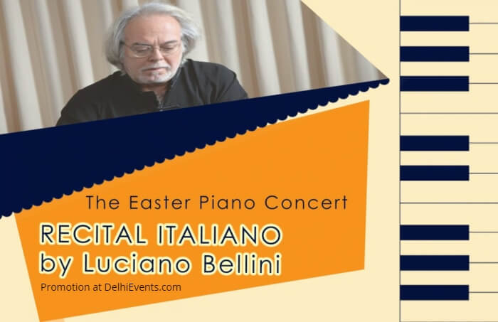 Easter Piano Concert Recital Italiano Luciano Bellini Italian Institute Creative