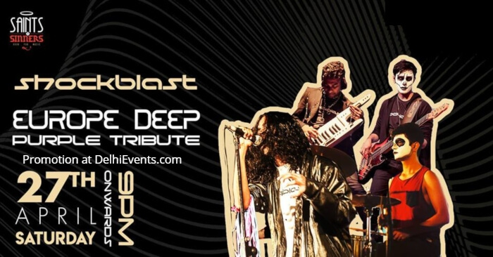 Europe Deep Purple Tribute Shockblast Saints Sinners Creative