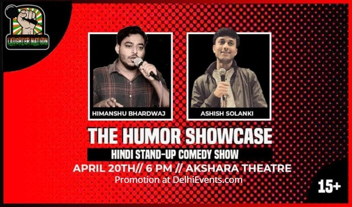Laughter Nation Humor Showcase 30 Hinglish Standup Himanshu Bhardwaj Ashish Solanki Creative