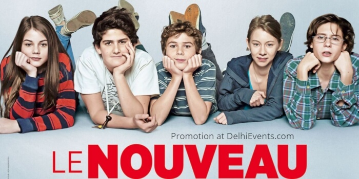 Le Nouveau new kid French Film Poster