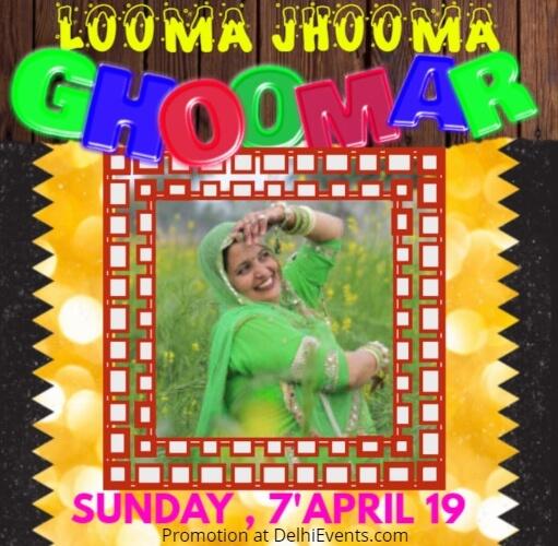 Looma Jhooma Ghoomar Creative