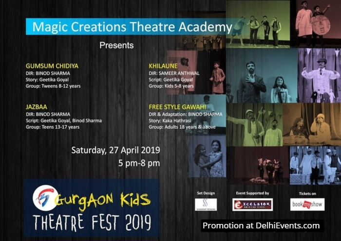 Magic Creations Academy Gurgaon Kids Theatre Fest 2019 Creative