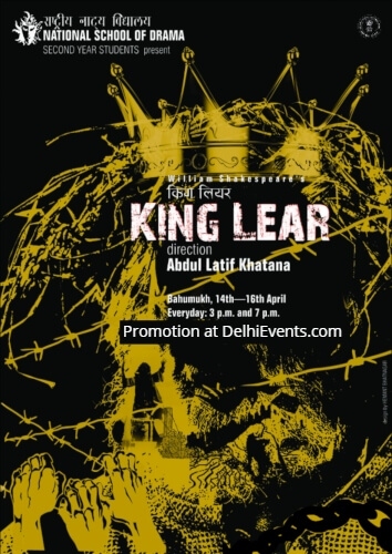 NSD Second year students Shakespeare King Lear Play Creative
