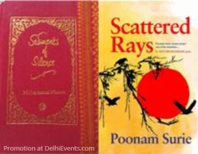 Sediments Silence Mohammad Hasan Scattered Rays Poonam Surie Poetry Book Covers