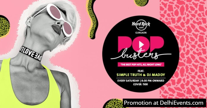 Popbusters Simple Truth DJ Maddy Hard Rock Cafe Creative