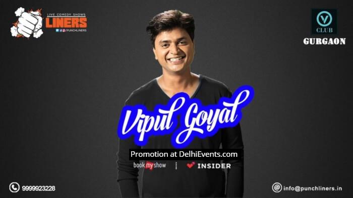 Punchliners Standup Vipul Goyal VClub Creative
