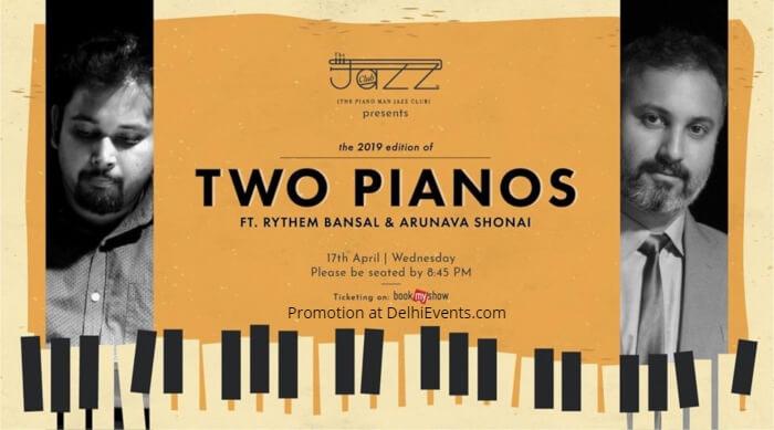 pianists Rythem Bansal Arunava Shonai Piano Man Jazz Club Creative
