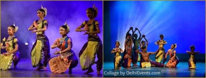 Su-Tarang 2019 Celebration Odissi Dance Triveni Kala Sangam Dancers
