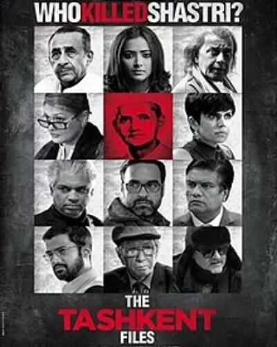 Tashkent Files Movie Poster