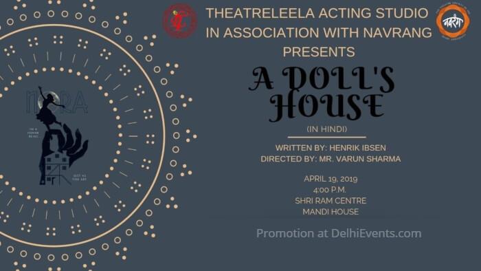 TheatreLeela Acting Studio Navrang Dolls House Play Shri Ram Centre Creative