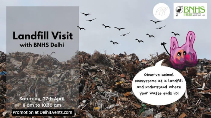 Waste Time workshop series Landfill Visit Creative