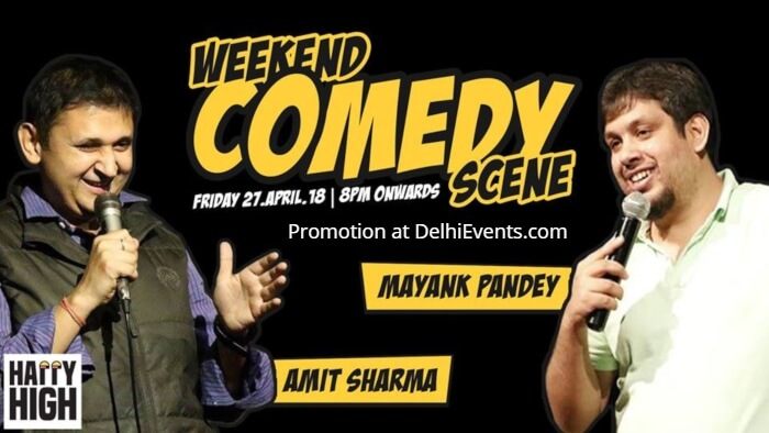 Standup Amit Sharma Mayank Pan Happy High Creative