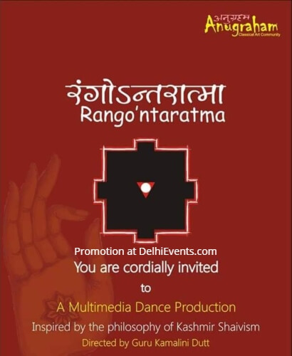 Anugraham Rangontaratma Multimedia Dance Production Kamani Creative