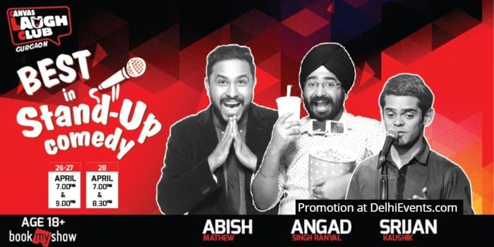 Best Standup Abish Mathew Angad Singh Ranyal Srijan Canvas Laugh Club Creative