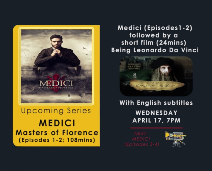 Medici Being Leonardo Da Vinci Film Screenings Italian Centre Creative
