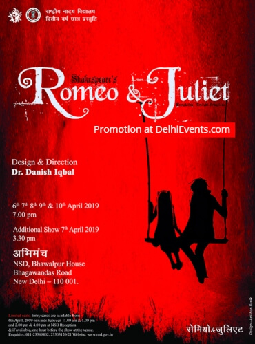 NSD Second year students Shakespeare Romeo Juliet Play Creative