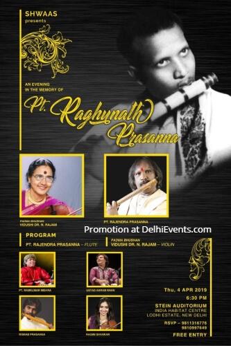 Shwaas Indian Classical music Pt. Raghunath Prasanna IHC Creative