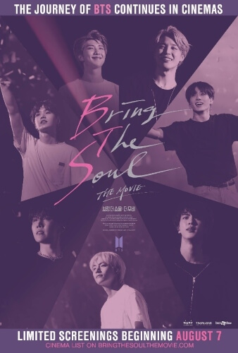 Bring Soul Movie BTS documentary film Poster